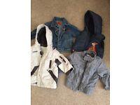 Kids coat jacket bundle 1-2 years