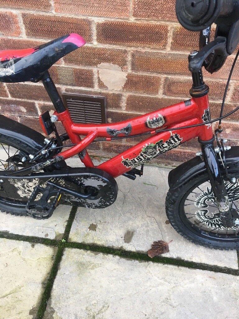 12'' boys bike