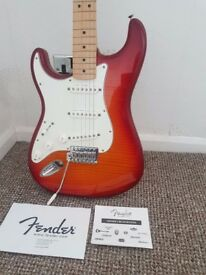 Fender Stratocaster Plus Top Left Handed