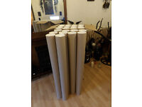 Job Lot 22 EX Large Brand New Card Board Tubes