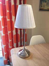 Ikea Arstid bedside table lamp lights x 2