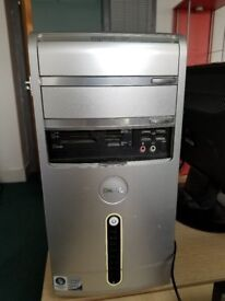 DELL PC ( Monitor, Keyboard and mouse included )
