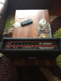 Peavey u.s.a delta bass amplifier.