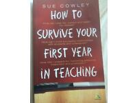 'How to Survive Your 1st Year in Teaching'