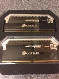 Corsair Dominator Platinum 32GB (2x16GB) 2666mhz CL15 DDR4 Ram Memory PC Gaming