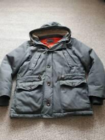 Mens John Rocha Coat Jacket Medium Green Warm Winter