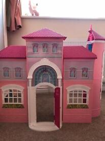 Large barbie summer dream house