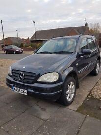 Mercedes ML430 £1000 ono
