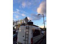 Ku-band mobile satellite Internet for motorhome/caravan SES Astra2Connect Newtec Sat3Play