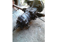 VW Beetle Gearbox and subframe