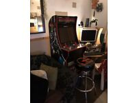 Mortal Kombat 1up Arcade cabinet
