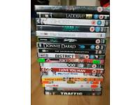 18 DVDs great condition