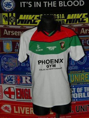 5/5 Glentoran adults M 2013 #21 cup football shirt jersey trikot soccer image