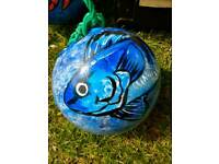 Hand Painted Fish Buoys