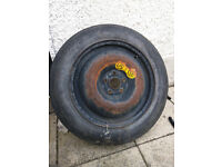 5x100 space saver spare wheel.