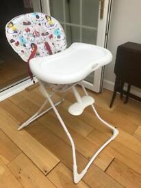 Baby high chair - used and in good condition.