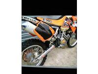 KTM EXC 400 2002 road reg