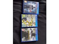 Popular PS4 Games ( Excellent Condition)