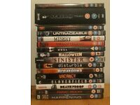 JOB LOT OF 160 DVDS: FILMS / BOX SETS / TV SHOWS – VARIOUS GENRES (EXCELLENT CONDITION)
