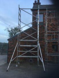 boss scaffold tower 6.5m