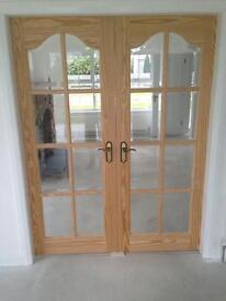 Interior French doors new
