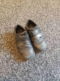 Boys black clarks shoes