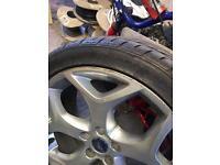 Genuine focus st alloy wheel