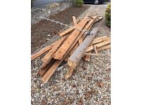 Wood- TimberDecent amount for burning or shed building