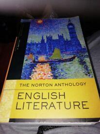 The Norton Anthology, English Literature