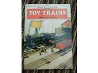Toy train book