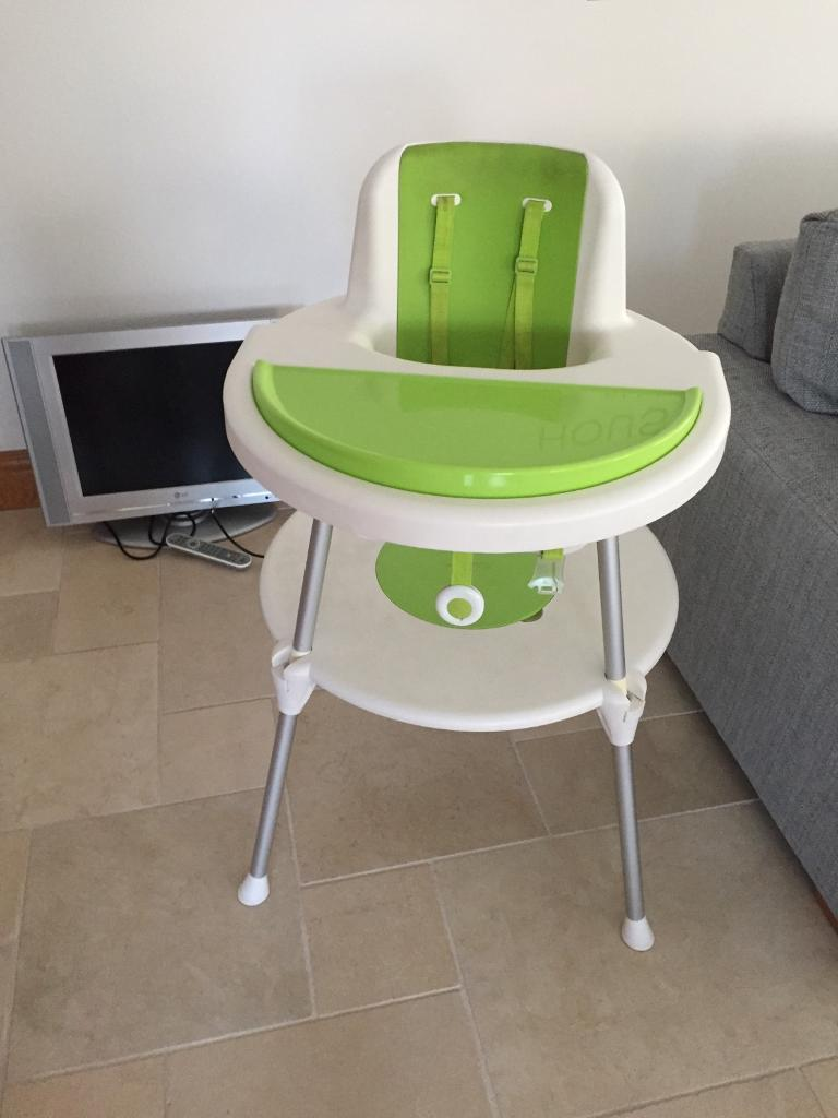 Silver Cross High Chair Turns Into Table And