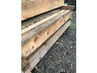 Landscape sleepers timbers