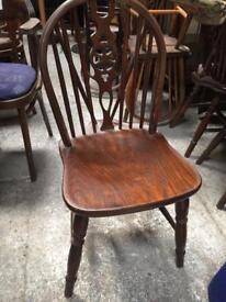 Chairs x4 chunky wherlback