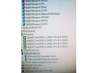 "Lenovo Thinkcentre 20"" M71z i5 QUAD Core PROCESSOR,All in one 2.5Ghz 1000GB HDD Webcam Win 10/7"