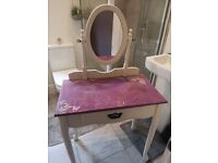 Dressing table & stool (project)