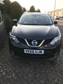 Nissan Qashqui Tekna, black, 1.6 diesel, auto, excellent condition throughout