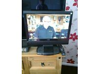 """logik 19"""" lcd tv/dvd player with built in freeview"""