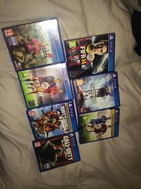 PlayStation 4 / PS4 games bundle