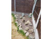 30 Rocks for garden