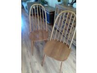 'Ercol style' quaker dining chair (buy one get one free)