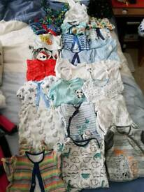 3-6 months baby boy sleep suits