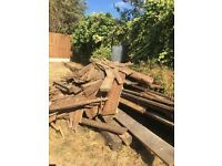 FREE Pile of wood - firewood/burning