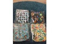New cloth pocket nappies
