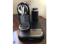 Magimix Nespresso Coffee Machine & Aeroccino Milk Frother