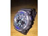 Casio GShock 5081 GA-100 (Black/Blue/White)