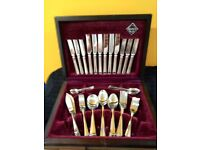 Stainless Steel Cutlery Set Sheffield - 6 Sets - Never Used