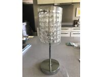 Pretty Lamp with Glass Beads