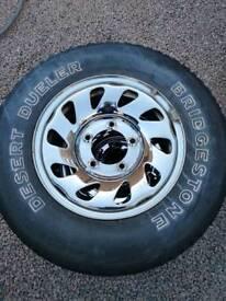 Suzuki Jimny Vitara wheels and tyres