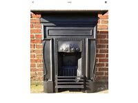 Original Early Edwardian (1902) All In One Cast Iron Fireplace