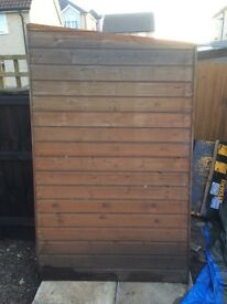 6x4 Garden Shed with Pent Roof